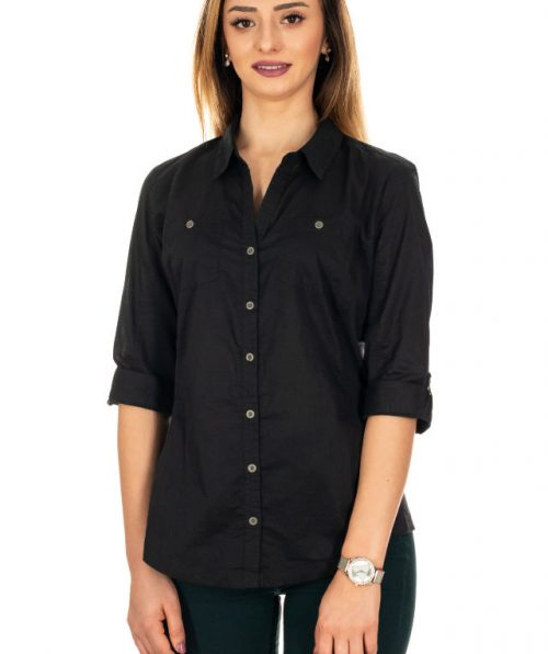 Camasa business casual negru, Marime M